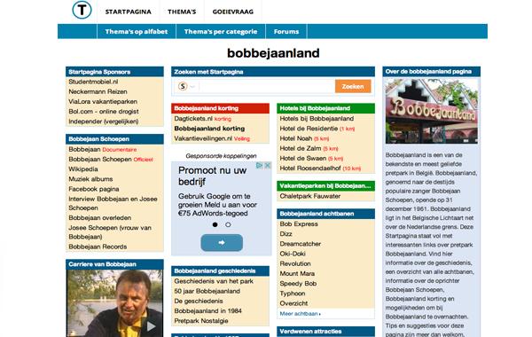 Bobbejaanland Startpagina
