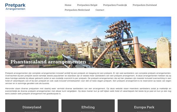 Pretpark Arrangement