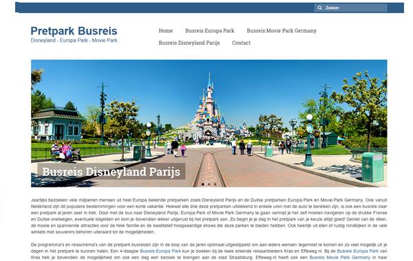 Pretpark Busreis